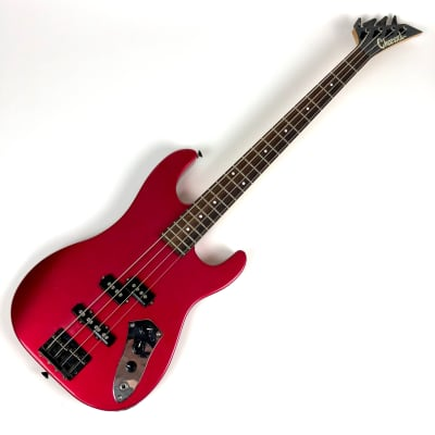 Highly Modified Charvel CSM Bass Red for sale