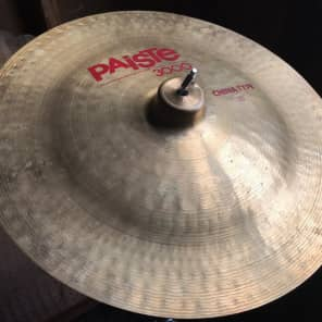 "Paiste 18"" 3000 China Type Cymbal"