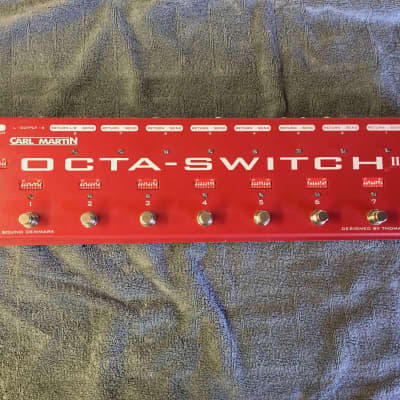 Carl Martin Octa-Switch II True Bypass