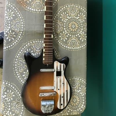 Teisco ET-200 Sunburst 60's/70's project guitar