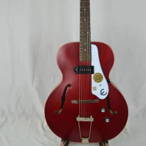 Epiphone Inspired by 1966 Century Archtop Acoustic/Electric Guitar Cherry