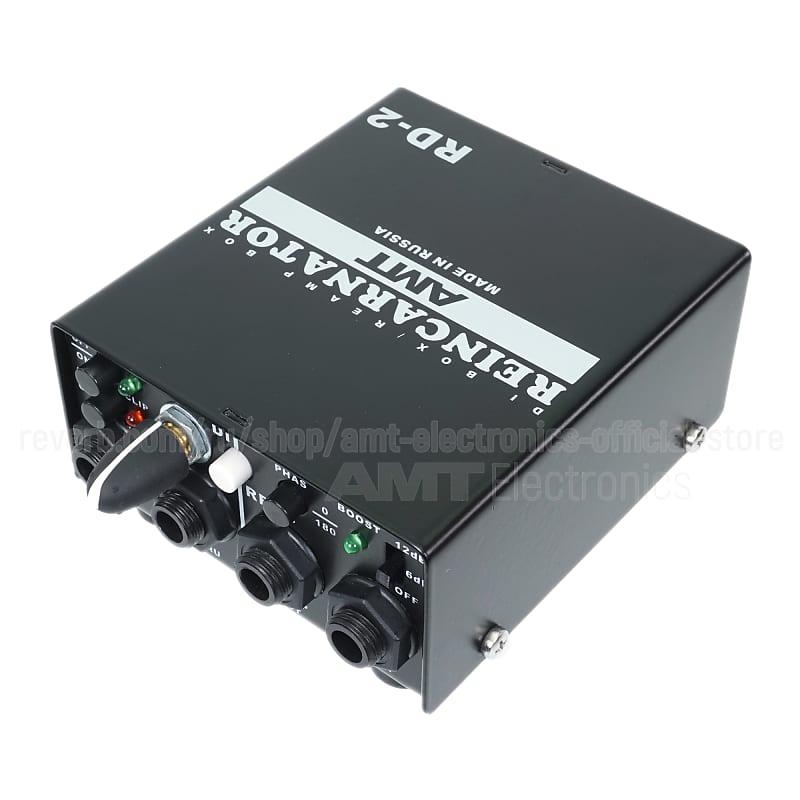 AMT Electronics Reincarnator RD-2 - DI-box / ReAmp-box (Free shipping!)
