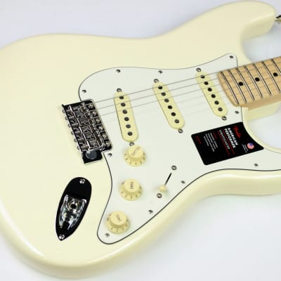 Fender Channel Exclusive American Performer Stratocaster Olympic White #ISS5572 for sale