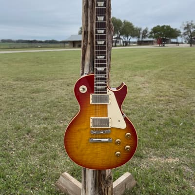 1995 Gibson Gibson Custom, Art, & Historic Les Paul R9 Washed Cherry Burst for sale
