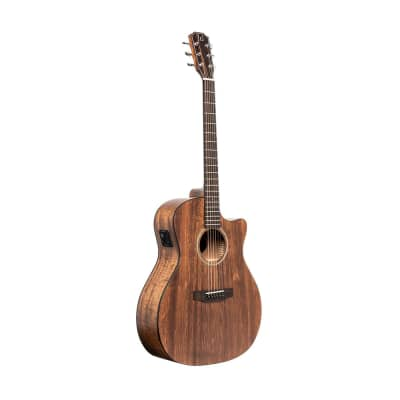 JN Guitars Dovern Series Cutaway Acoustic Electric Auditorium Guitar - DOV-ACFI