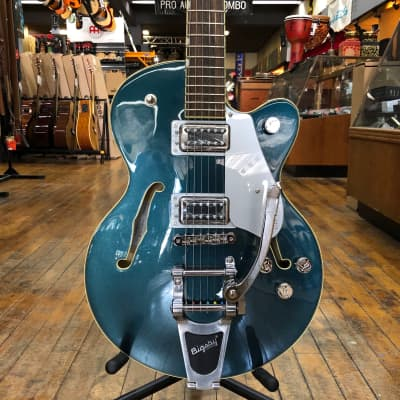 Gretsch G5655T Electromatic Center Block Jr. Single-Cut with Bigsby Jade Grey Metallic