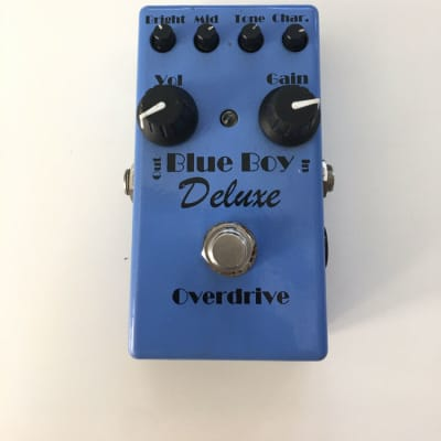 MI Audio Blue Boy Deluxe V1 Overdrive Blues Driver Rare Guitar Effect Pedal