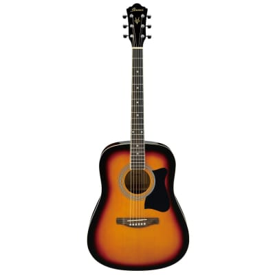 Ibanez V50NJP Acoustic Guitar Jam Pack Vintage Sunburst for sale