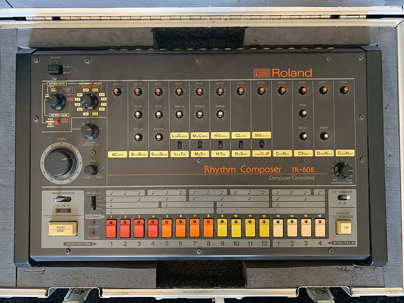 roland tr 808 rhythm composer vintage drum machine monism reverb. Black Bedroom Furniture Sets. Home Design Ideas