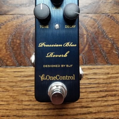 One Control Prussian Blue Reverb for sale