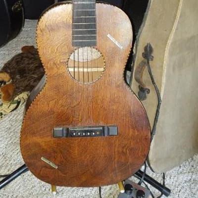 Wurlitzer Parlor Guitar 1920s Martin project  rare Globe-Wernicke  Original case finish MAKE OFFER for sale