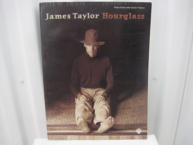 James Taylor Hourglass Piano Vocal Guitar Chords Sheet Music Reverb