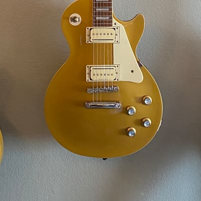 Epiphone  Les Paul Pro Traditional 3  2019 Gold Top for sale