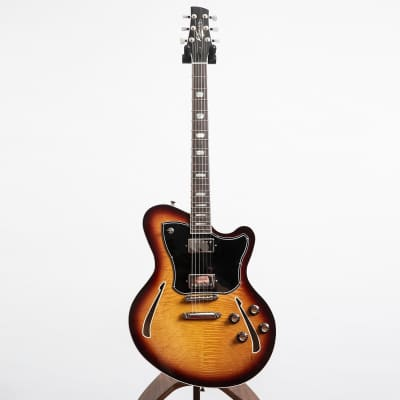 Kauer Guitars Super Chief Electric Guitar, Tobacco Burst for sale