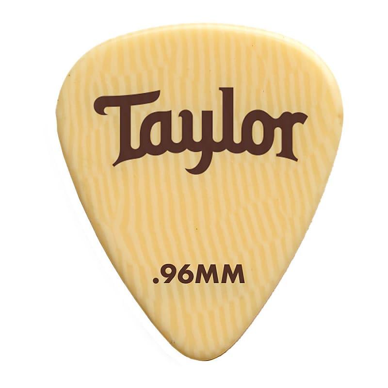 Taylor Premium Ivoroid 351 Picks 0.96mm 6-pc