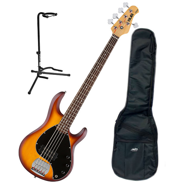 sterling by musicman ray5hbs r 5 string bass bundle reverb. Black Bedroom Furniture Sets. Home Design Ideas