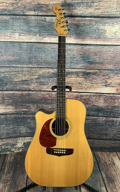 used fender left handed san miguel acoustic electric guitar reverb. Black Bedroom Furniture Sets. Home Design Ideas