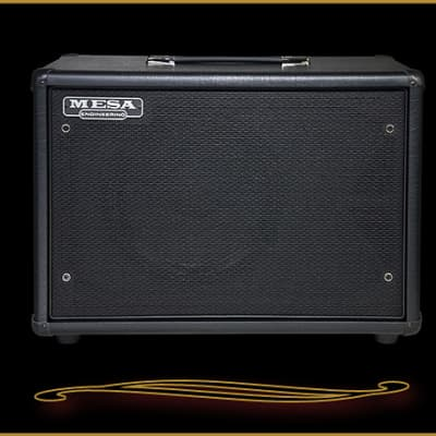 Mesa Boogie Compact 1x12 Widebody Closed Back Cabinet  Black Taurus
