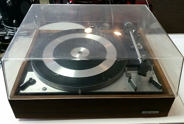 Vintage United Audio Dual 1219 Turntable Made in Germany 1969 (For Repair)