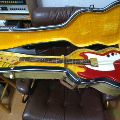 Kalamazoo KB-1 Bass guitar (Gibson EB-0 pickup!) 1967-1968 8 lbs 1 oz for sale