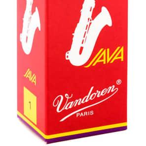 Vandoren SR271R Java Red Series Tenor Saxophone Reeds - Strength 1 (Box of 5)