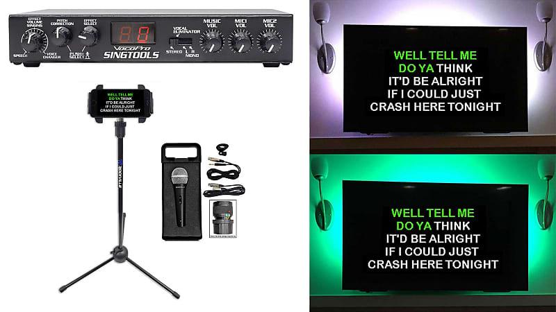 vocopro singtools dsp vocal effects karaoke mixer pitch reverb. Black Bedroom Furniture Sets. Home Design Ideas
