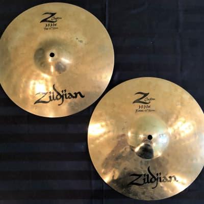 "Zildjian 13"" Z Custom Hi-Hat Cymbals (Pair) 2001 - 2009"