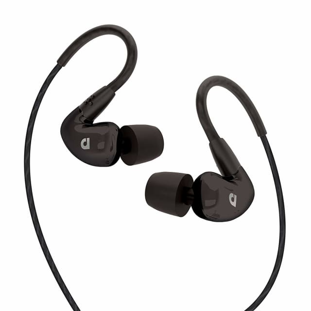 Audiofly AF100C Single Driver In-Ear Universal Fit Monitor with Volume Control & Microphone image