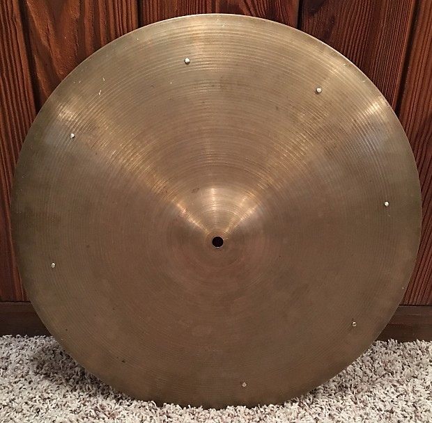 zildjian 1950 39 s 20 small stamp ride cymbal reverb. Black Bedroom Furniture Sets. Home Design Ideas