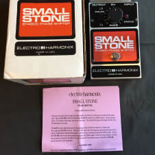 Electro-Harmonix Small Stone EH4800 Phase Shifter EHX Phaser Effects Pedal Guitar FX Keyboard
