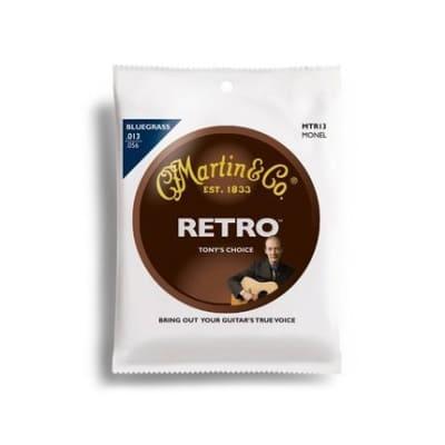 Martin Strings MTR13, Retro, 6 Str, T Rice, BGS, Monel Wd for sale
