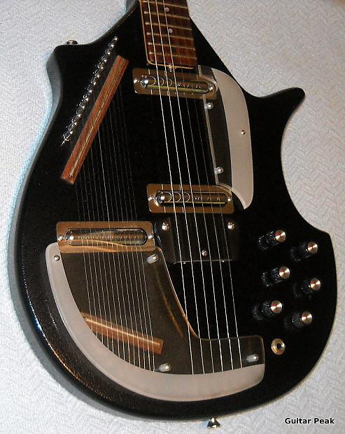 jerry jones master electric sitar gator black reverb. Black Bedroom Furniture Sets. Home Design Ideas