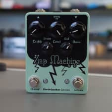 EarthQuaker Devices Zap Machine Overdrive Boost Distortion Dual Pedal #223 of 250 FREE SHIPPING 2016