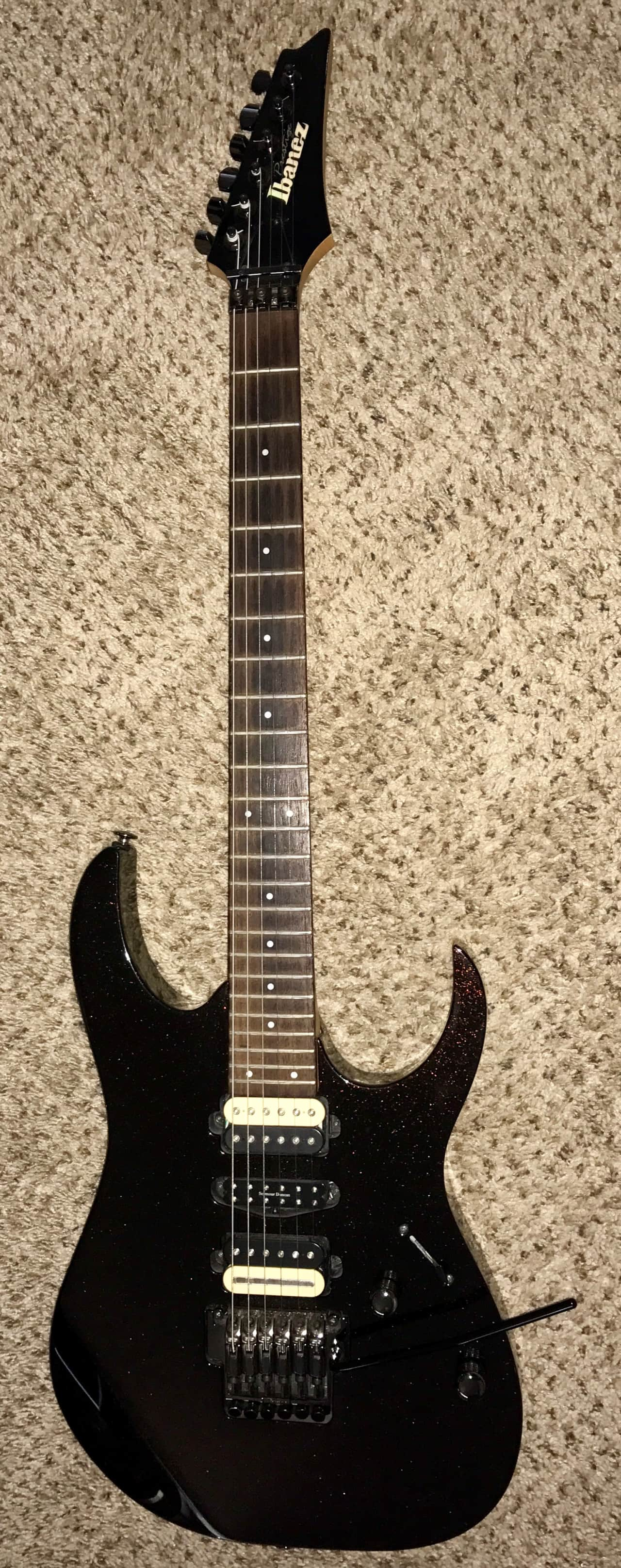 Ibanez team j craft prestige rg 1570 electric guitar made for Ibanez prestige team j craft