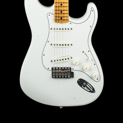 Fender Custom Shop Jimi Hendrix Voodoo Child Signature Stratocaster Journeyman Relic - Olympic White
