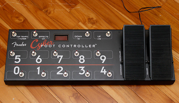 fender cyber midi foot controller reverb. Black Bedroom Furniture Sets. Home Design Ideas