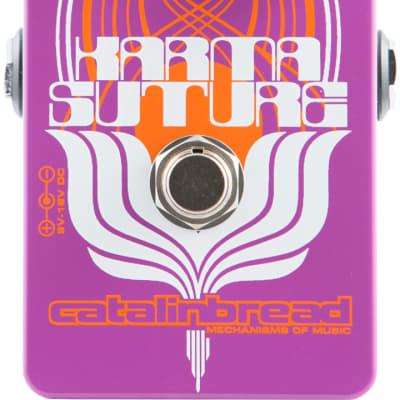 New Catalinbread Karma-Suture Harmonic Fuzz Guitar Effects Pedal!