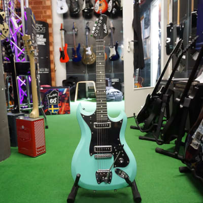 Hagstrom Retroscape H-II - Aged Sky Blue for sale