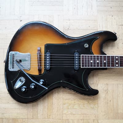 Migma 2000 solidbody guitar ~1973 made in communist East Germany (GDR) for sale