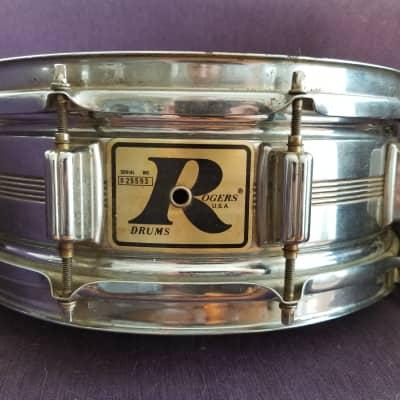 5x14 Rogers Dynasonic  1975 Chrome Over Brass