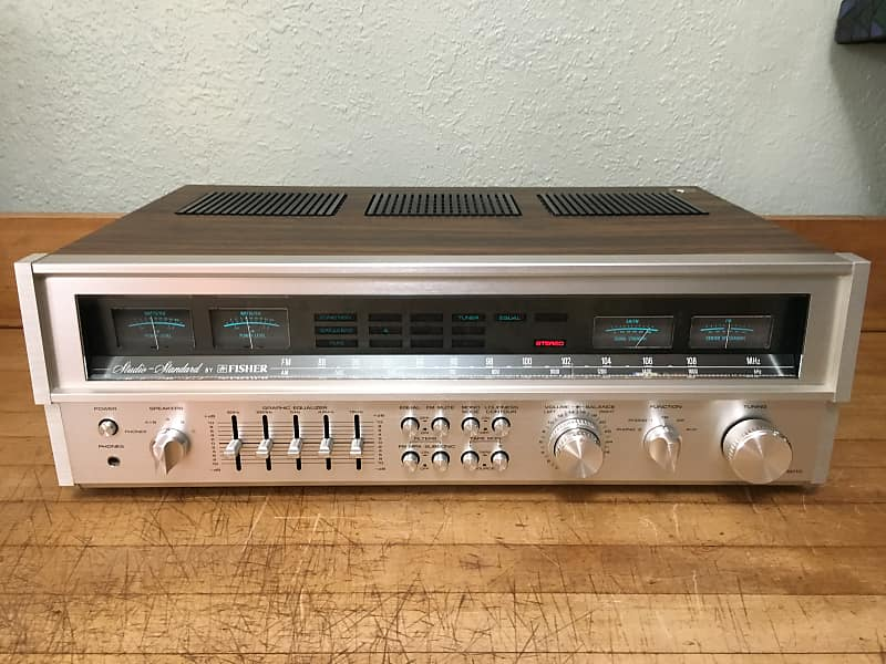 Fisher Rs 2010 Studio Standard Stereo Receiver Near Mint