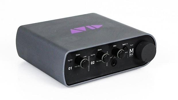 Avid Mbox 3 Mini Audio Interface Reverb