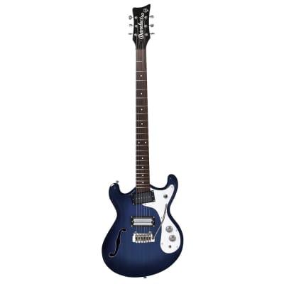 Danelectro 66BT Baritone Guitar (Blue)