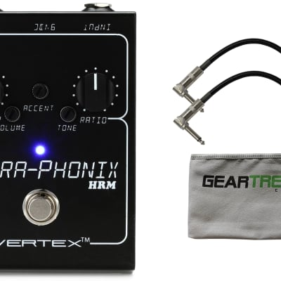Vertex Ultra-Phonix HRM Dumble Overdrive w/ Cloth and 2 Patch Cables
