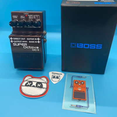 Boss OC-3 Super Octave w/Original Box | Fast Shipping!