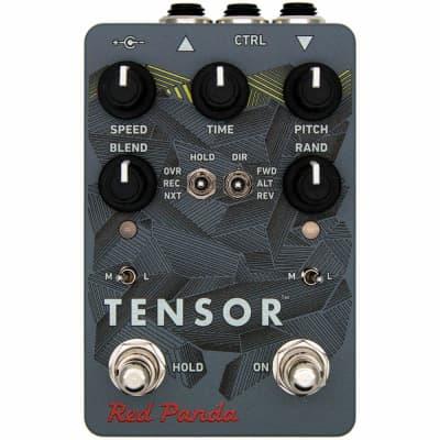 Red Panda Tensor Tape Delay Time Warp Guitar Effect Pedal