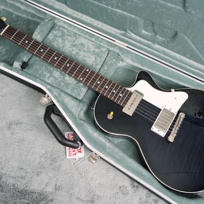 Ivison Guitars The Hurricane Black Burst for sale