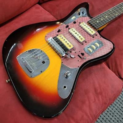 Klira Star Club 233 Offset Guitar 1960s Sunburst for sale
