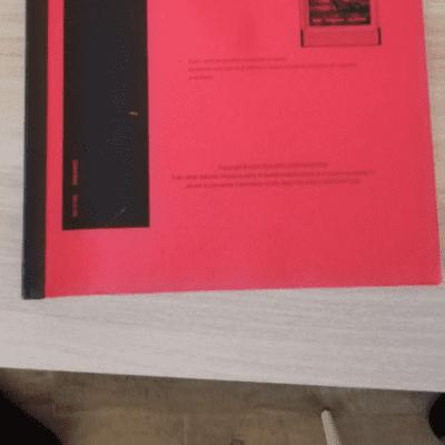 Roland Doppio Manuale V-Card VC-1 D-50 e VC-2 Vocal Designer 2005 Red