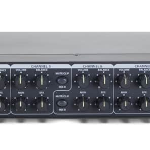 Samson SM10 Rack-Mounted 10-Channel Line Mixer